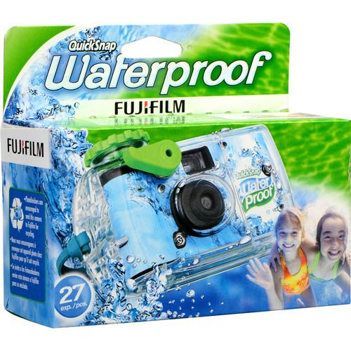 Fujifilm QuickSnap Waterproof 800 35mm Disposable Camera
