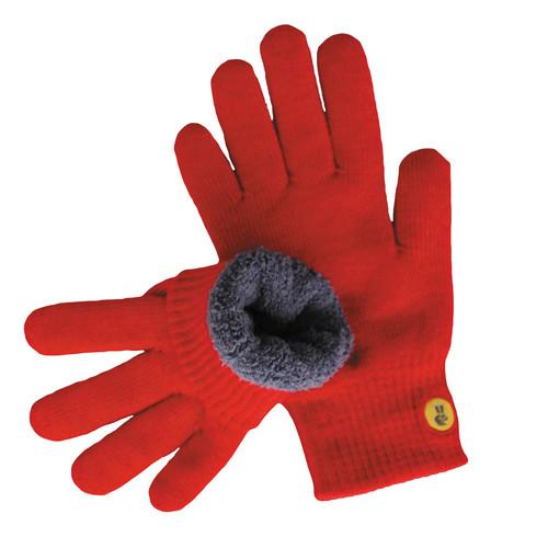 Glove.ly COZY Winter Touchscreen Gloves (Red, Small) FC-004-R-S
