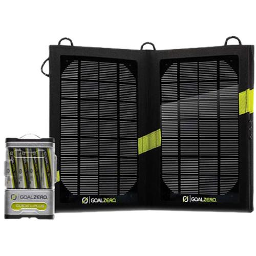 GOAL ZERO Guide 10 Plus Solar Recharging Kit with Gen 1 GZ-41027