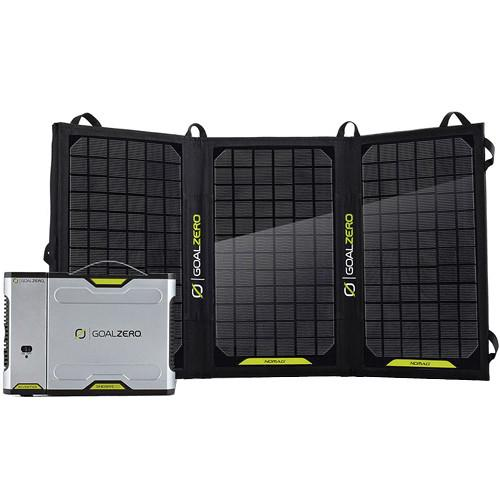GOAL ZERO Sherpa 100 Solar Charging Kit with 110VAC GZ-42011