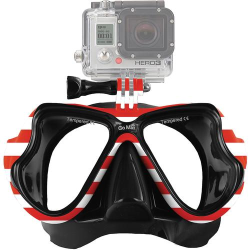GoMax GoPro Scuba Diving Mask (USA Theme) MASK01-USA