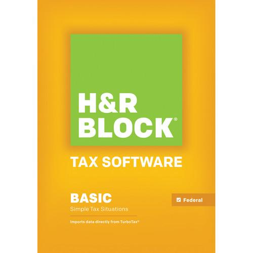 H&R Block 14 Basic (Download, Windows) 1013800-14