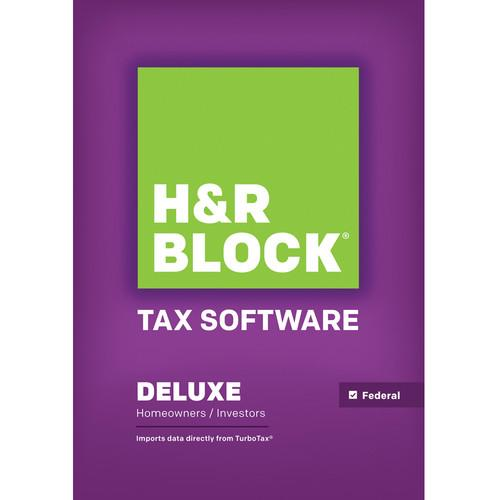 H&R Block  14 Deluxe (Download, Mac) 1423800-14