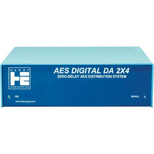 Henry Engineering AES Digital DA 2x4 Distribution System DD 24