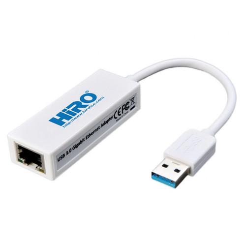 Hiro USB 3.0 to 10/100/1000 Gigabit Ethernet Network H50224