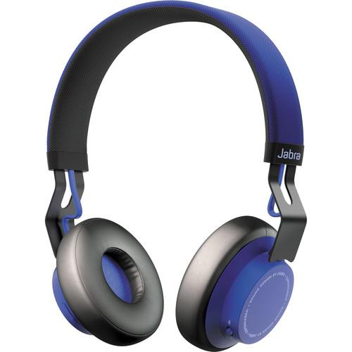 Jabra Move Wireless Bluetooth Headphones (Blue) 100-96300001-02