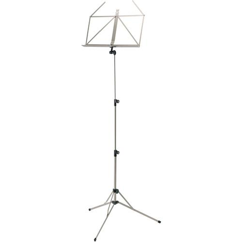 K&M 100/5 Music Stand (Nickel-Colored) 10050-000-11