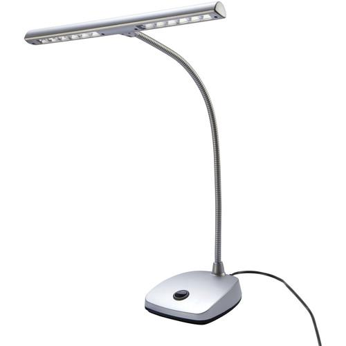 K&M  12297 LED Piano Lamp (Silver) 12297-090-63