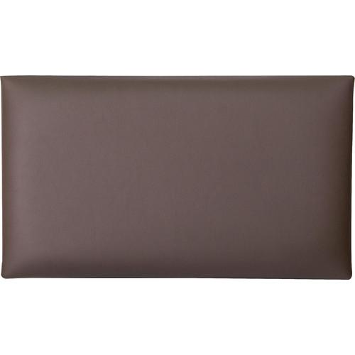 K&M 13841 Leather Seat Cushion (Brown) 13841-401-00