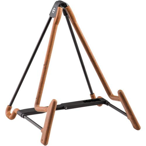 K&M 17581 Heli-2 Electric Guitar Stand (Cork) 17581-014-95