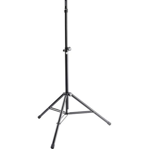 K&M 21467 Starline Ring Lock Speaker Stand (Black) 21467-000-55
