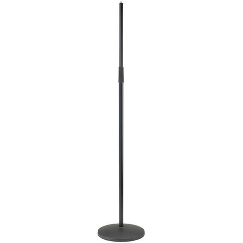 K&M 26125 Microphone Stand, with No Logo (Black) 26125-577-55
