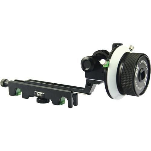 Lanparte Follow Focus V2 with Hard Stops for 19mm Rods FF-02-19