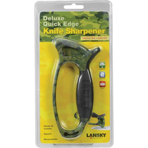 LANSKY Deluxe Quick Edge Camo Knife Sharpener LSTCN-CG