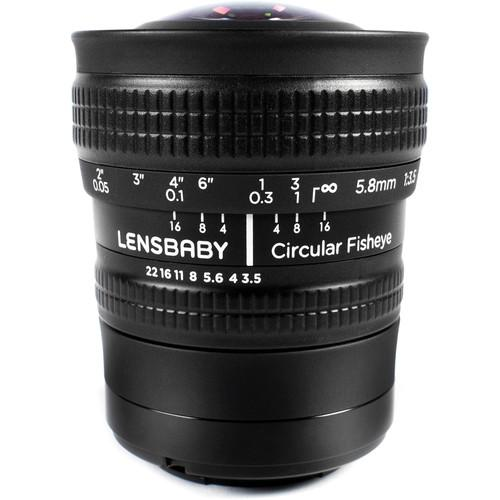 Lensbaby 5.8mm f/3.5 Circular Fisheye Lens for Micro Four LBCFEM
