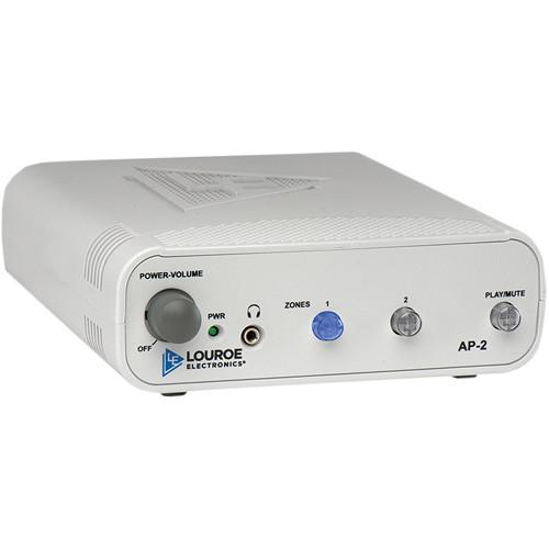 Louroe 2-Zone Manual Audio Monitoring Base Station LE-432