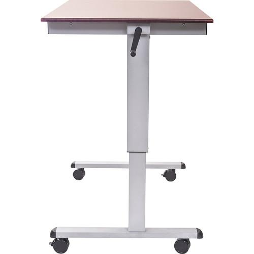 Luxor Crank Adjustable Stand-Up Desk (48