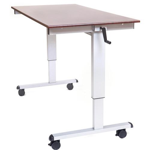 Luxor Crank Adjustable Stand-Up Desk (60