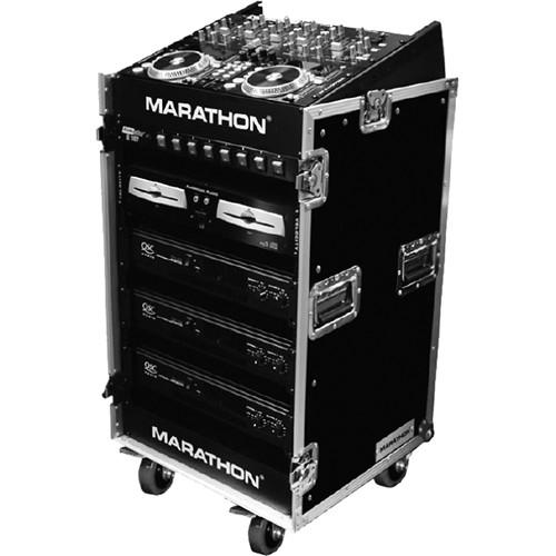 Marathon 10U Slant Mixer Rack / 16U Vertical Rack MA-1016WE