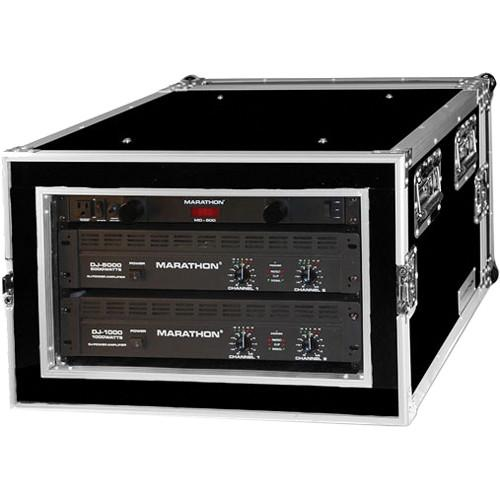 Marathon 6U Shock Mount Amplifier Deluxe Case MA-6UADSM21