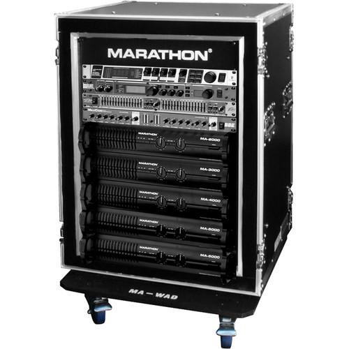 Marathon Flight Road Case 16U Shock Mount and MA-16UADSM21W