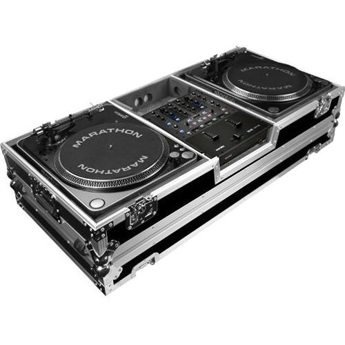 Marathon MA-2PLATMHW Dual Lighting Case with Casters MA-2PLATMHW