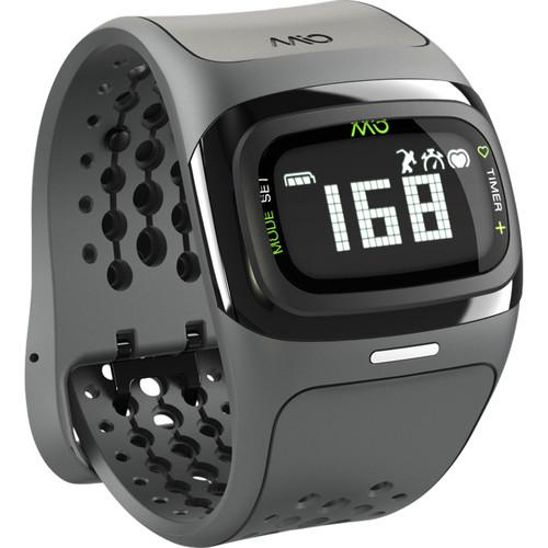 Mio Global ALPHA 2 Heart Rate Sport Watch (Black Trim) 58P-BLK