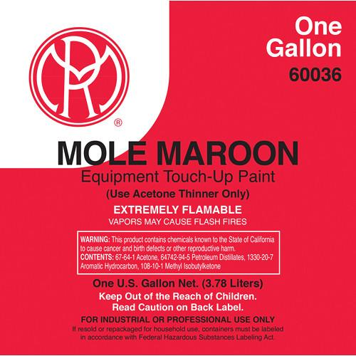Mole-Richardson Mole-Maroon Paint (1 Gallon) AC236