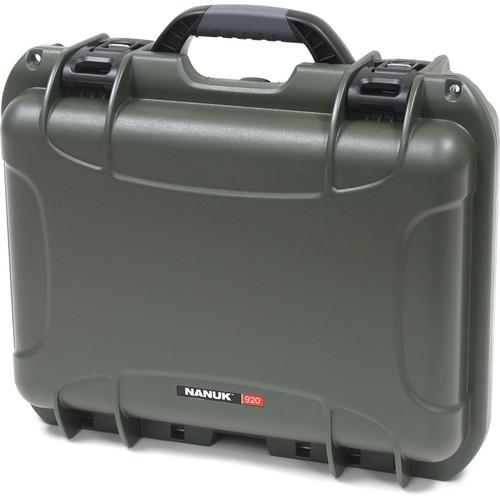 Nanuk  920 Case with Foam (Olive) 920-1006
