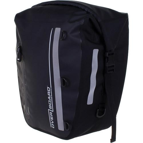 OverBoard Classic Waterproof Back Wheel Bike Pannier OB1159-BLK