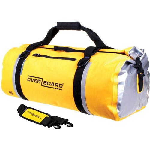 OverBoard Classic Waterproof Duffel Bag (60L, Yellow) OB1151-Y
