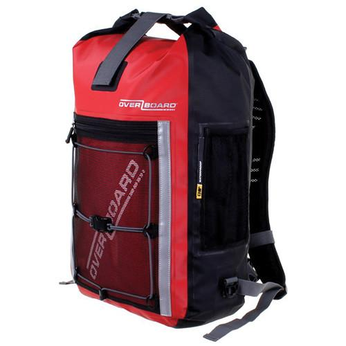 OverBoard Pro-Sports Waterproof Backpack (30L, Red) OB1146-R