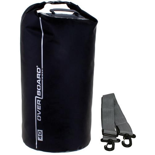 OverBoard Waterproof Dry Tube Bag (Black, 40L) OB1007-B