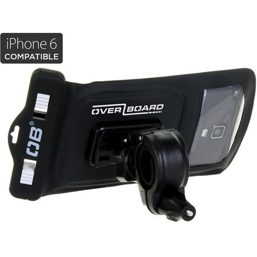 OverBoard Waterproof Phone Case and Bike Mount (Black) OB1156