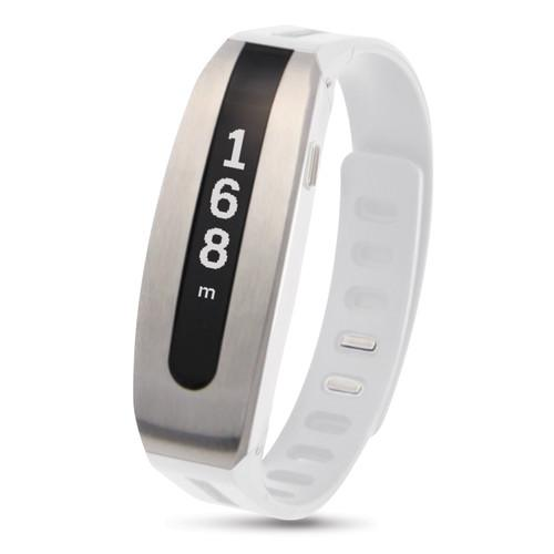 Papago GOLiFE CARE Smart Fit Band (Silver/White) GLCSW-US