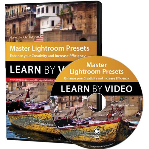 Peachpit Press DVD: Master Lightroom Presets Learn 9780134044682