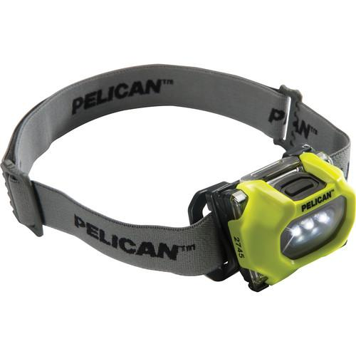 Pelican 2745 LED Headlight (Yellow) 027450-0100-245