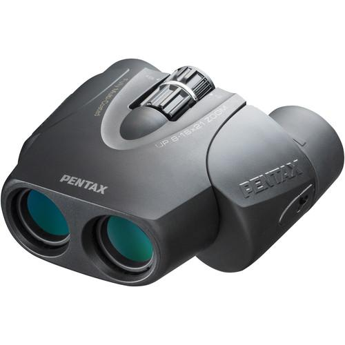 Pentax 8-16x21 U-Series UP Binocular (Black) 61961