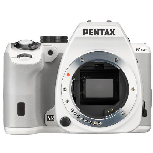 Pentax  K-S2 DSLR Camera (Body Only, White) 11890