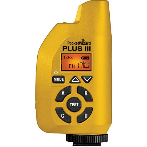 PocketWizard Plus III Transceiver (Yellow) 801-131