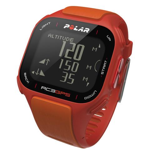 Polar RC3 GPS Fitness Watch with Heart Rate Monitor 90047386