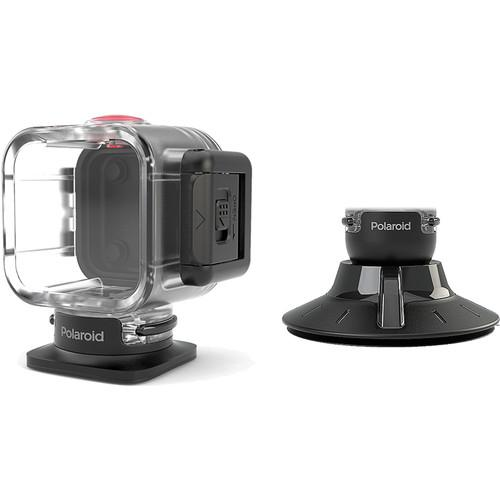 Polaroid Waterproof Case and Suction Mount POLC3WSM