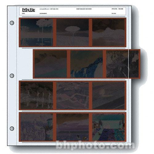 Print File Archival Storage Page for Negatives, 6x7cm - 020-0200