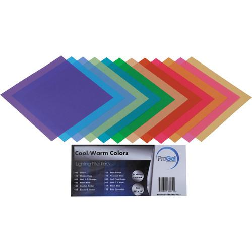 Pro Gel Cool/Warm Colors Filter Pack 12 x 12