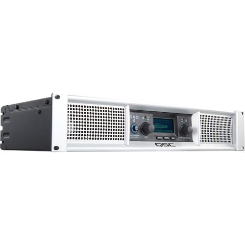 QSC GXD 4 Professional 1600W Power Amplifier with DSP GXD 4