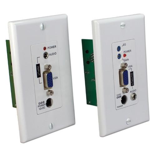 QVS VA-EWP VGA/UXGA Audio/Video over CAT5e Wall-Plate VA-EWP