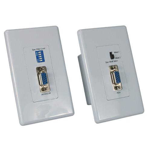 QVS VB-C5WP VGA/RGB over CAT5e Wallplate Passive VB-C5WP