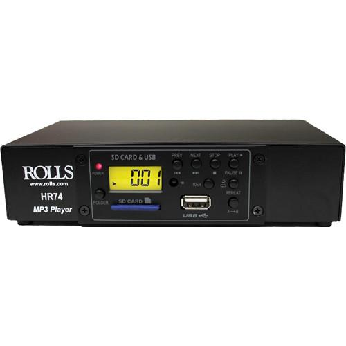 Rolls  HR74 MP3 Card Reader and Player HR74