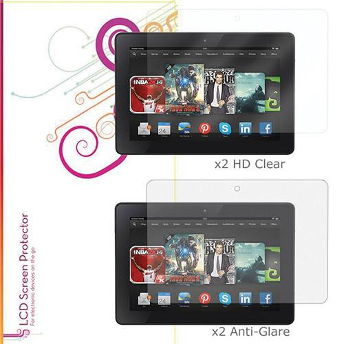 rooCASE HD Clear and Anti-Glare Screen Protectors RC-HDX8.9-AGHD