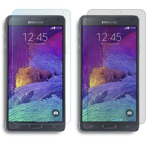 rooCASE Two Anti-Glare and Two HD Clear Screen RC-SAM-NOTE4-AGHD